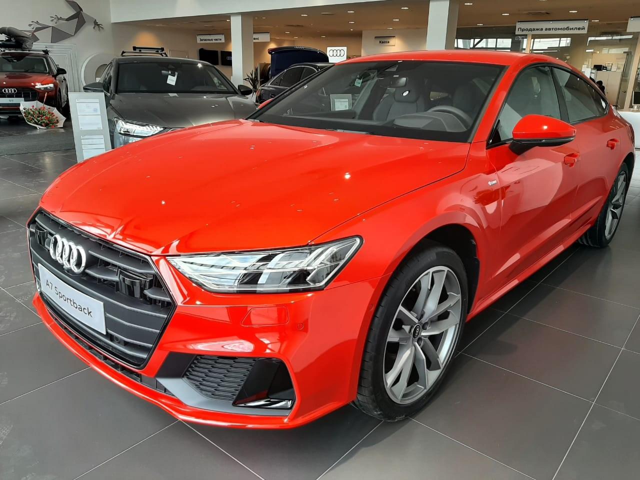 Audi A7 2018 - по н.в.